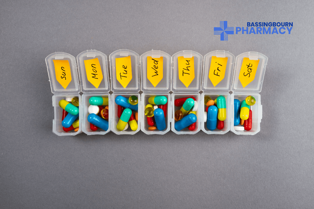 Community Dosage Systems Monitored Dosing Bassingbourn Pharmacy